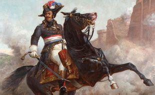 Peinture du général Thomas-Alexandre Dumas Davy de la Pailleterie (1762-1806)