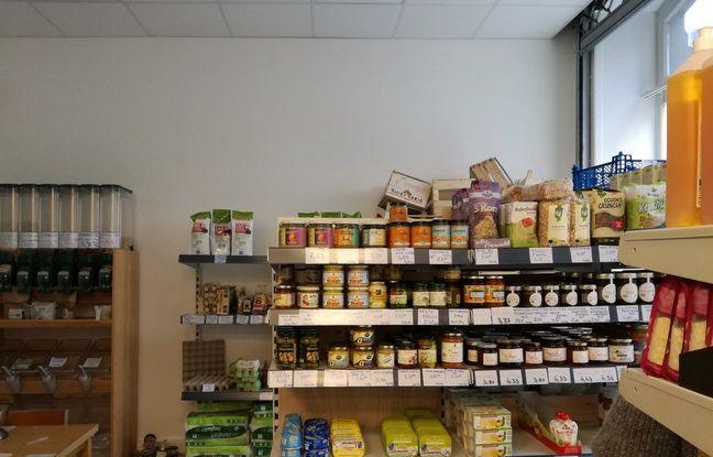 Dans les petits rayons de la coopérative alimentaire de Strasbourg, Coopalim, se trouvent d'abord des produits locaux et moins chers.