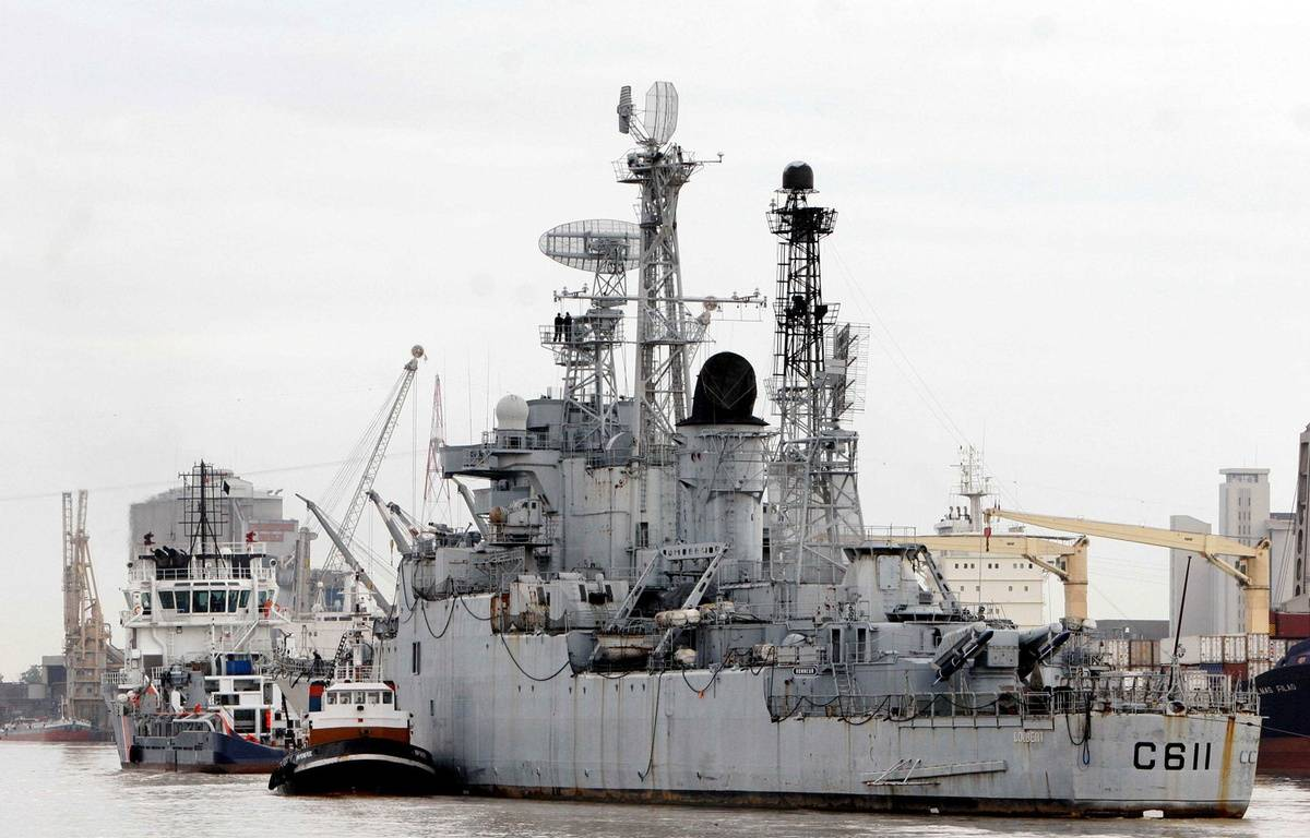 Le croiseur Colbert va revenir à Bordeaux pour être démantelé.  – SAURA PASCAL/SIPA