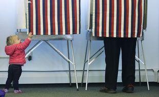 Un bureau de vote en Alaska, pour les Midterms 2014, le 4 novembre.