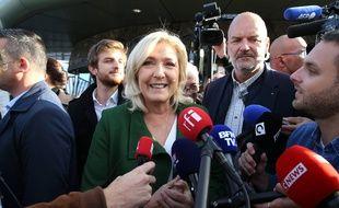 L'immigration est un point important dans la campagne présidentielle de la représentante du Rassemblement national, Marine Le Pen.