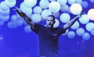 Drake en concert à Bercy (Paris), en mars 2017.