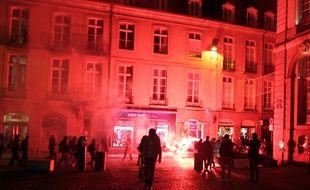 En décembre, une manifestation interdite s'était tenue en marge de la visite de Manuel Valls.