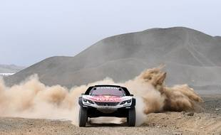 Sébastien Loeb sur le Dakar