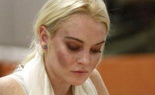 Lindsay Lohan au tribunal de Los Angeles le 19 octobre 2011.