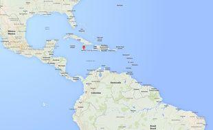 L'ïle de la Jamaïque.