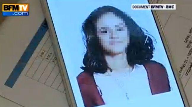 Capture d'écran d'un reportage sur une ado radicalisée diffusé sur BFMTV. – BFMTV
