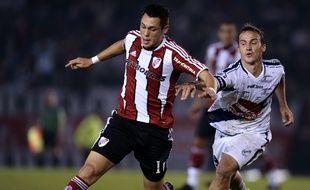 Lucas Ocampos a débuté sa carrière professionnelle à River Plate.