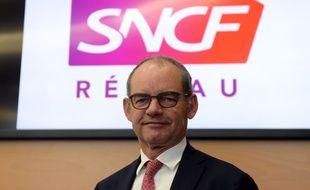 Patrick Jeantet, le président directeur général de SNCF Réseau.