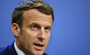 Emmanuel Macron, le 21 juillet 2020.