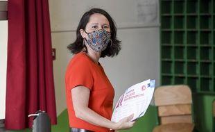 La maire de Nantes et présidente de la France urbaine, Johanna Rolland, le 28 juin 2020.