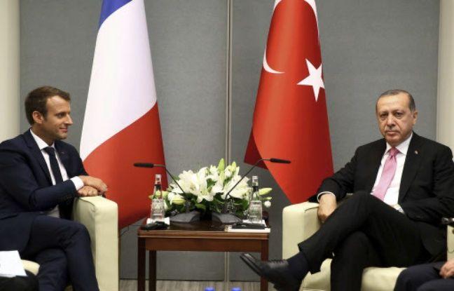 Turquie: Emmanuel Macron rencontre Recep Tayyip Erdogan pour «maintenir le dialogue»