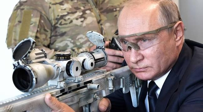 VIDEO. Russie: Poutine se la joue sniper en essayant une nouvelle Kalachnikov