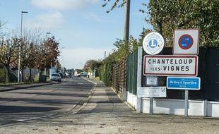 La ville de Chanteloup-les-vignes (Illustration)
