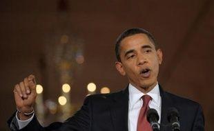 """Le président américain Barack Obama avait émis l'espoir lundi de créer """"dans les prochains mois"""" des """"ouvertures"""" entre les Etats-Unis et l'Iran qui permettront """"de s'asseoir à une table, face à face""""."""