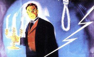 Une partie de l'affiche du film «L'effroyable secret du Dr Hitchcock» sorti en 1962.