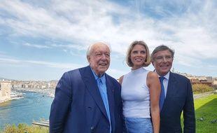 Jean-Pierre Foucault, Sylvie Tellier et Jean-Claude Gaudin ont présenté l'organisation de l'élection de Miss France
