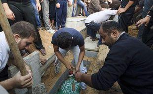 Photo d'illustration d'un enterrement à Gaza