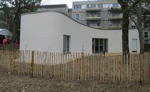 Une maison en 3D a été imprimée à Nantes