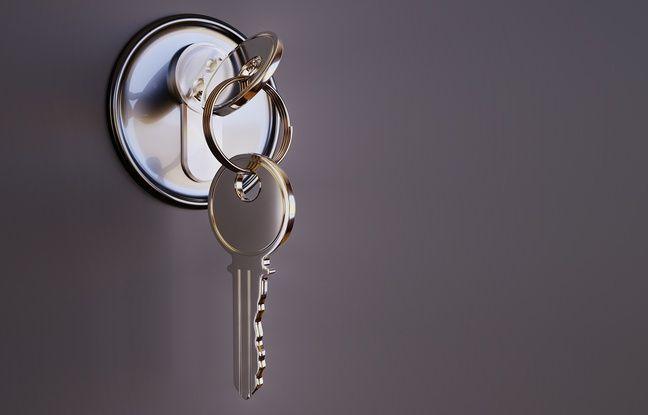 L'intrus s'est retrouvé enfermé à clé.