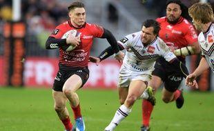 James O'Connor du RC Toulon, le 14 février 2016, à Bordeaux.