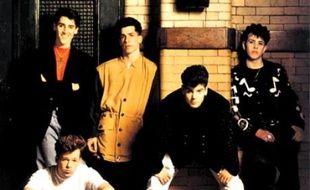 Les New Kids On The Block au début des années 90.