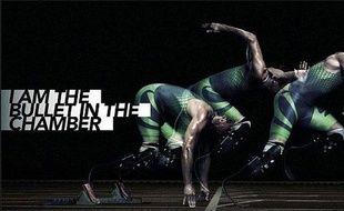 La publicité que Nike a retiré du site d'Oscar Pistorius.