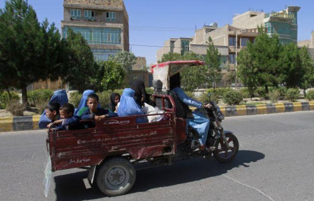 648x415 civils fuient combats province herat ouest kaboul
