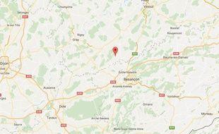 La commune de Gézier-et-Fontenelay, en Haute-Saône.
