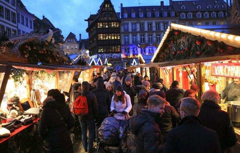 Strasbourg : des policiers spécialisés dans la lutte contre les tueries de masse au marché de Noël