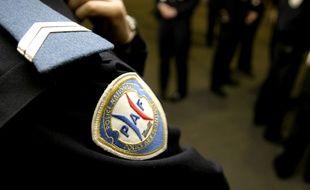 Illustration de la police aux frontières (PAF).