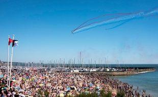 L'édition 2017 des Ailes Bleues avait rassemblé 120.000 personnes devant le show aérien de la Patrouille de France.
