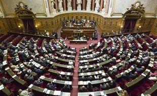 Vue de l'hémicycle du Sénat, le 4 septembre 2013.