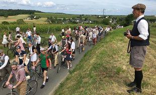 L'Anjou Vélo Vintage rassemble des milliers de personnes chaque année.