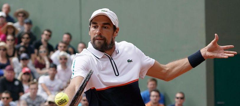 Jérémy Chardy à Roland-Garros, en 2017