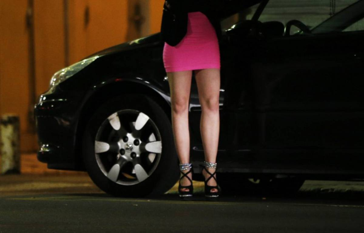 Prostitution - Illustration – VALERY HACHE / AFP