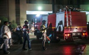 Au moins douze personnes ont été blessées dans l'explosion d'un réservoir chimique près de l'aéroport du Caire, le 12 juillet 2018. (illustration)