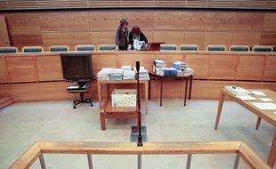 La Cour d'assises des Bouches-du-Rhône, à Aix-en-Provence.