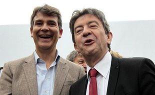 """En 2013, Jean-Luc Mélenchon soutenait """"évidemment"""" Arnaud Montebourg dans son refus de """"brader"""" l'entreprise française Dailymotion que guignait l'Américain Yahoo!."""