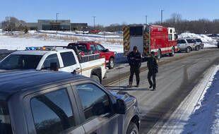Une fusillade a éclaté dans une clinique de Buffalo, dans le Minnesota, le 9 février 2021.