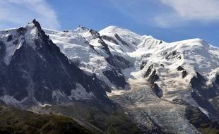 Photo d'illustration du massif du Mont-Blanc.