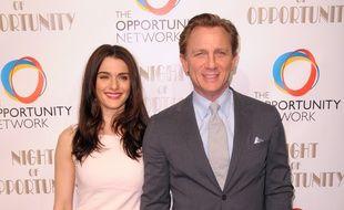 L'actrice Rachel Weisz et son mari, l'acteur Daniel Craig