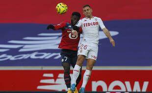 Lillois et Monégasques s'affrontent au stade Pierre Mauroy