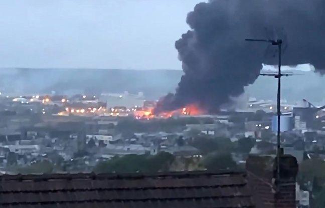 Incendie de l'usine Lubrizol à Rouen: L'enquête n'a pas permis «de déterminer, à ce jour, la localisation du départ de l'incendie», annonce le parquet de Paris