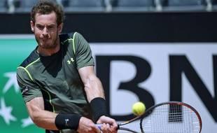 Andy Murray à Rome le 13 mai 2015.