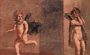 Détail de fresque au Musée Saint-Raymond. MSR