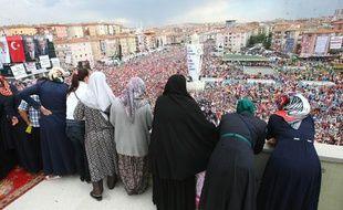 Rassemblement des pro-Erdogan à Sincan, en Turquie, le 15 juin 2013.