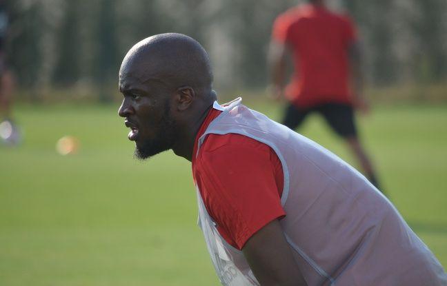 Tanguy Ndombele, ici mardi à l'entraînement de l'OL, pourrait faire l'objet d'offres conséquentes durant cet été.