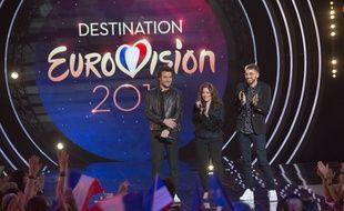 Amir, Isabelle Boulay et Christophe Willem, les jurés francophones de «Destination Eurovision».