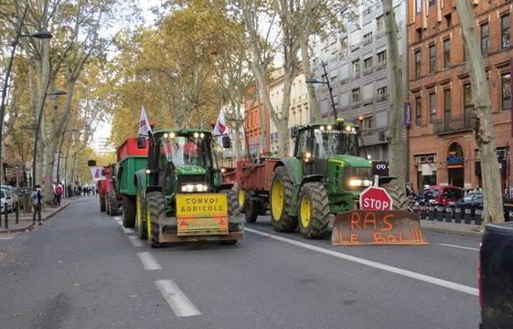 Manifestation Des Agriculteurs Aujourd Hui